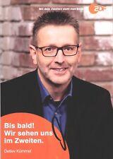 Detlev Kümmel u.a. Bares für Rares TV original Autogrammkarte AK TOP 10079 UH