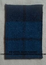 WW2 British Army,RSF Royal Scots Fusiliers, tartan patches, for Tam O Shanter