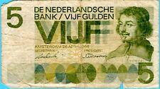 Netherlands - 5 Gulden - 26.04.1966 - WPM# 90