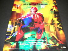 Wbcn 104 Fm radio of Boston is King Of The Airwaves 1988 Promo Poster Ad