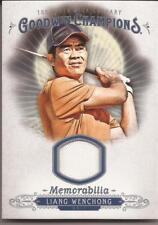 2018 Goodwin Champions Liang Wenchong Memorabilia Relic M-WE