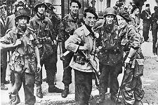 WW2 - Le Colonel Bourgouin et ses parachutistes en Bretagne en juin 1944