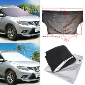 Car Windshield Protector Prevent Big Cover Cap Snow Lce Sun Dust Frost Freezing
