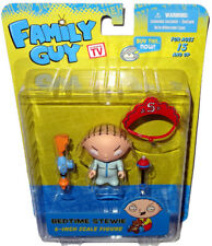 "Family Guy Bedtime Stewie Griffin Action Figure MIB 6"" Reissue Mezco Toy"