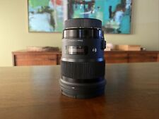 Sigma Art 50mm F/1.4 DG HSM Telephoto Lens for Canon EF