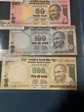 - India 500  100 50 Rupees ND 2000  92 91 90 Unc