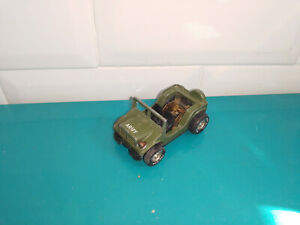 130920 voiture miniature Darda motor série 10 jeep army sans moteur