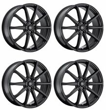 ICW Racing 215B BANSHEE 215B-8751942 Qty 4 Rims 18X7.5 +42mm 5X105 Satin Black