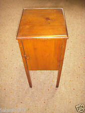 Antique W 00006000 Ooden Handmade Standing Sewing Chest