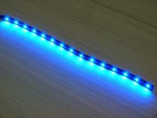 12'' Waterproof Car Motorcycle Light Flexible Decorative Light LED Strip Blue