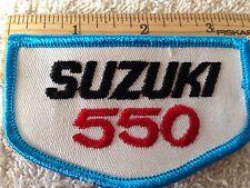 SUZUKI GT550 GS5500 TM,RM,GT,DR,GN,GS,LT,SP,TC RMZ PATCH FLAT TRACK  BADGE B-036