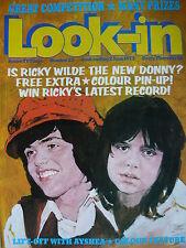 LOOK-IN MAGAZINE 2ND JUNE 1973 - RICKY WILDE POSTER! - DONNY OSMOND