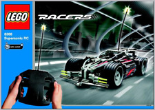 Lego Racers Supersonic RC  8366 Instruction Only
