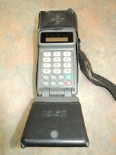 RARE MOTOROLA Digital Personal Communicator VTG Cell PHONE REAL LEATHER CASE