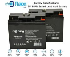 12V 18Ah Battery For Clore Automotive JNC4000 Jump-N-Carry Jump Starter - 2PK