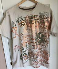 LL Cool J Legendary Icon Pelican/Gold No Surrender Never Retreat T Shirt Men's L