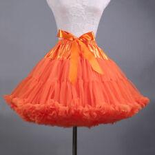 New Adult Tutu Skirt Fluffy Ballet Party Pettiskirt Women Dancewear Skirt Dress