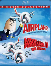 AIRPLANE!: 2-MOVIE COLLECTION double feature  - BLU RAY - Region free