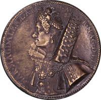 Marie de Medici a Uniface Cast Bronze Medal [after G. Dupré], 91mm