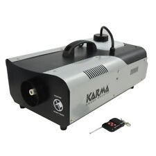 KARMA DJ 1500DMX macchina del fumo con interfaccia dmx + telecomando+staffa NEW