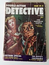Double-Action Detective Stories #4  1956 - Columbia  -FR - Pulp Magazine