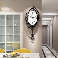 Modern Nordic Style Silent Clock Living Room Fashion Decor Pendulum Clocks Gift