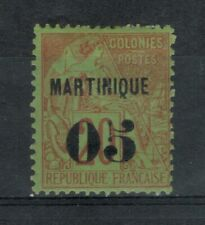 Martinique Scott 6 in MH Condition (CV ~ $11)