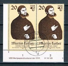 DDR MER. nr. 2755 DV, 500. compleanno di Martin Luther, timbrato!