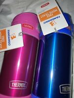 Thermos 12 Oz. Stainless Steel Spill-proof FUNtainers, Pink & Blue NWT Free Ship