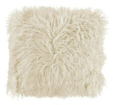 Shaggy Mongolian Faux Fur Soft Fluffy Scatter Cushion Covers 43x43cm Red Blue