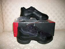 Capezio Fierce Dance Sneakers 12.5 or 13.5 M Child Blk NIB DS11