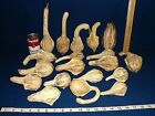 19 ORNAMENTAL GOURDS - dried - COUNTRY, HOMESTEAD, PRIMITIVE DECOR