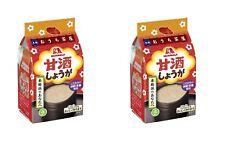 FAST AIR! 2 packs ! Morinaga freeze dried amazake ginger 100ml 4 pieces Japan