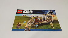 Lego starwars!!! instructions ONLY!!! pour 7929 battle of Naboo