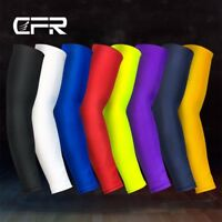 Compression Elbow Support Sport Arm Sleeve Brace Anti Sun UV For Men Women SFC