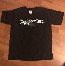 Only Crime Original Shirt Bane Good Riddance Black Flag Descendants Yl