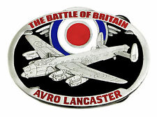 Avro Lancaster Bomber Belt Buckle Battle Of Britain WW2 Authentic Dragon Designs