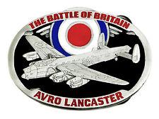 Avro Lancaster Bomber Belt Buckle Battle Of Britain WW2 Authentic Dragon Designs