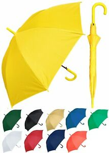 "Lot of 12 - 48"" Arc Doorman, Matching Hook, Auto Umbrella -RainStoppers Rain/Sun"