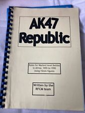 Peter Pig  AK47 Republic  wargames rules  15mm modern