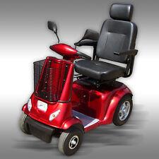 Elektromobil, Seniorenmobil, Elektroscooter, Scooter, Elektrorollstuhl, weinrot