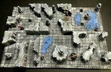 Dungeon Caverns Set 28mm Dungeons and Dragons Pathfinder d&d Terrain Scenery