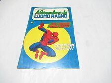 IL GIORNALINO DE L' UOMO RAGNO N. # 1 ORIGINALE EDITORIALE CORNO 1981 RARO !!