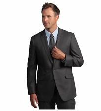 Kenneth Cole Reaction Slim-fit Gray Suit Separate Coat 44S, NWOT