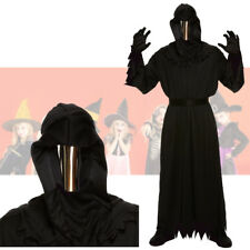 Halloween Death Mirror Mask Men's Fancy Dress Death Costume Mirrored Mask Outfit