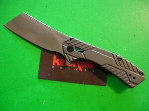 "NTSA KERSHAW ""STATIC CLEAVER""  4 "" CLOSED FRAME LOCK POCKET KNIFE #3445"