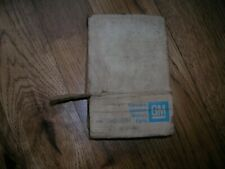 NOS GM CHEVY 1957-1961 CORVETTE EXHAUST MANIFOLD SPACER  FUEL INJECTION 283 FI