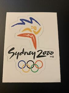 "2000 Summer Olympic Games Sydney Australia Sticker 2.8"" x 3.3"""
