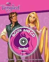 Disney Tangled Storybook and CD (Disney Storybook & CD), Disney, Very Good Book