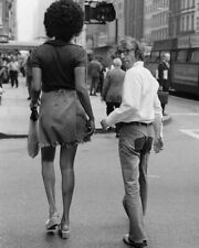 WOODY ALLEN WITH TAMARA DOBSON NEW YORK 1971 8X10 PHOTO PRINT 28012003790
